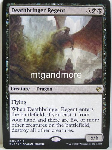 Magic - Deathbringer Regent - Archenemy Nicol Bolas