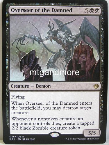 Magic - Overseer of the Damned - Archenemy Nicol Bolas