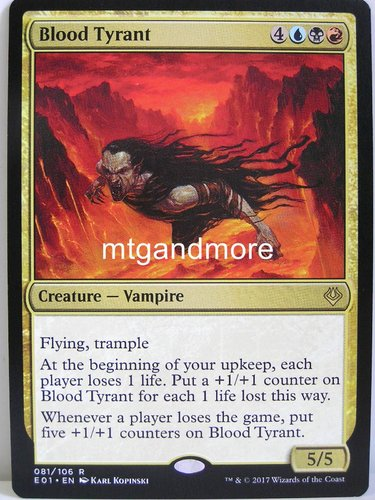 Magic - Blood Tyrant - Archenemy Nicol Bolas