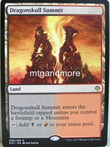 Magic - Dragonskull Summit - Archenemy Nicol Bolas