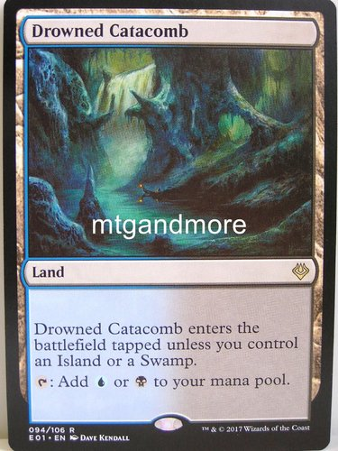 Magic - Drowned Catacomb - Archenemy Nicol Bolas
