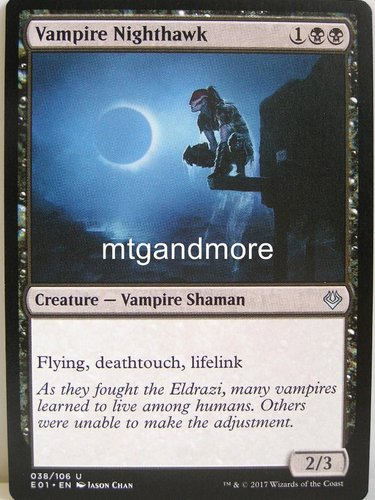 Magic - Vampire Nighthawk - Archenemy Nicol Bolas