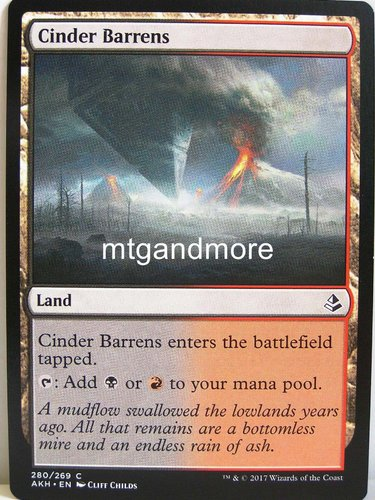 Magic - Cinder Barrens - Archenemy Nicol Bolas