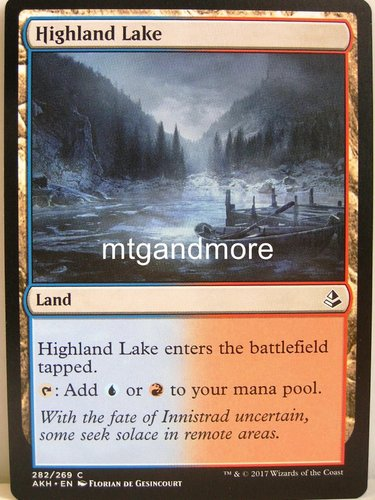 Magic - Highland Lake - Archenemy Nicol Bolas