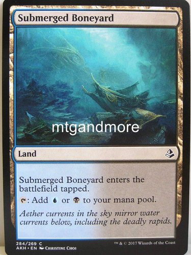 Magic - Submerged Boneyard - Archenemy Nicol Bolas