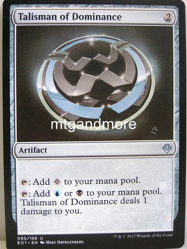 Magic - Talisman of Dominance - Archenemy Nicol Bolas