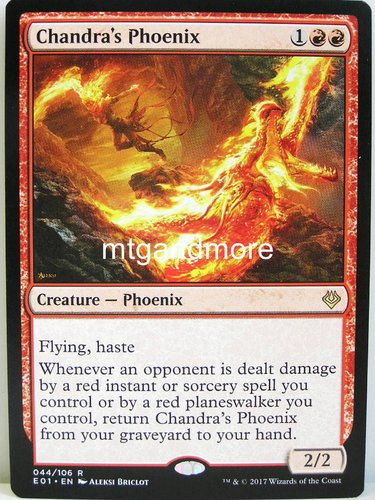 Magic - Chandra's Phoenix - Archenemy Nicol Bolas