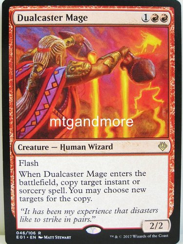 Magic - Dualcaster Mage - Archenemy Nicol Bolas