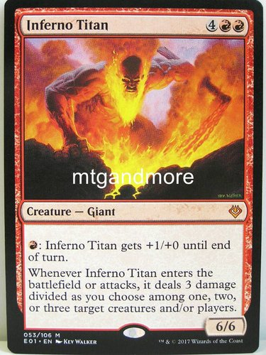 Magic - Inferno Titan - Archenemy Nicol Bolas