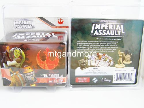 Star Wars Imperial Assault - Hera Syndulla and C1-10P Ally Pack