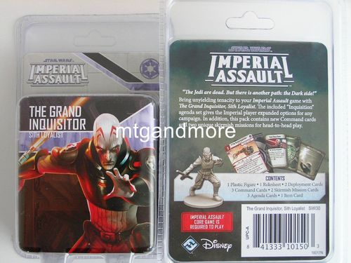 Star Wars Imperial Assault - The Grand Inquisitor Sith Loyalist Villain Pack
