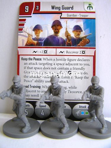 Star Wars Imperial Assault - Wing Guard Elite Version Group