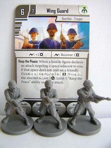Star Wars Imperial Assault - Wing Guard Group
