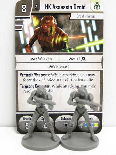 Star Wars Imperial Assault - HK Assassin Droid Group