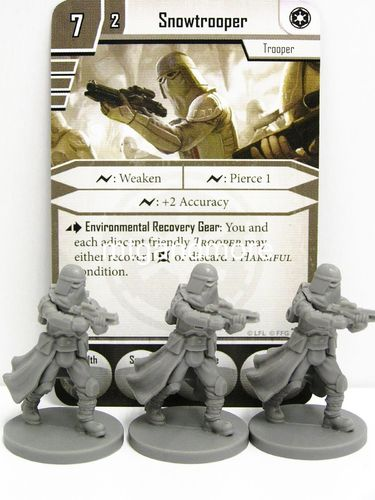 Star Wars Imperial Assault - Snowtrooper Group