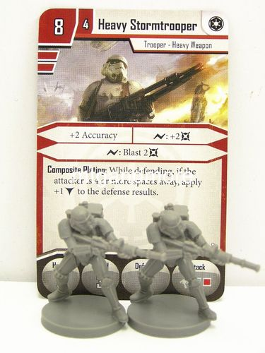 Star Wars Imperial Assault - Heavy Stormtrooper Elite Version Group