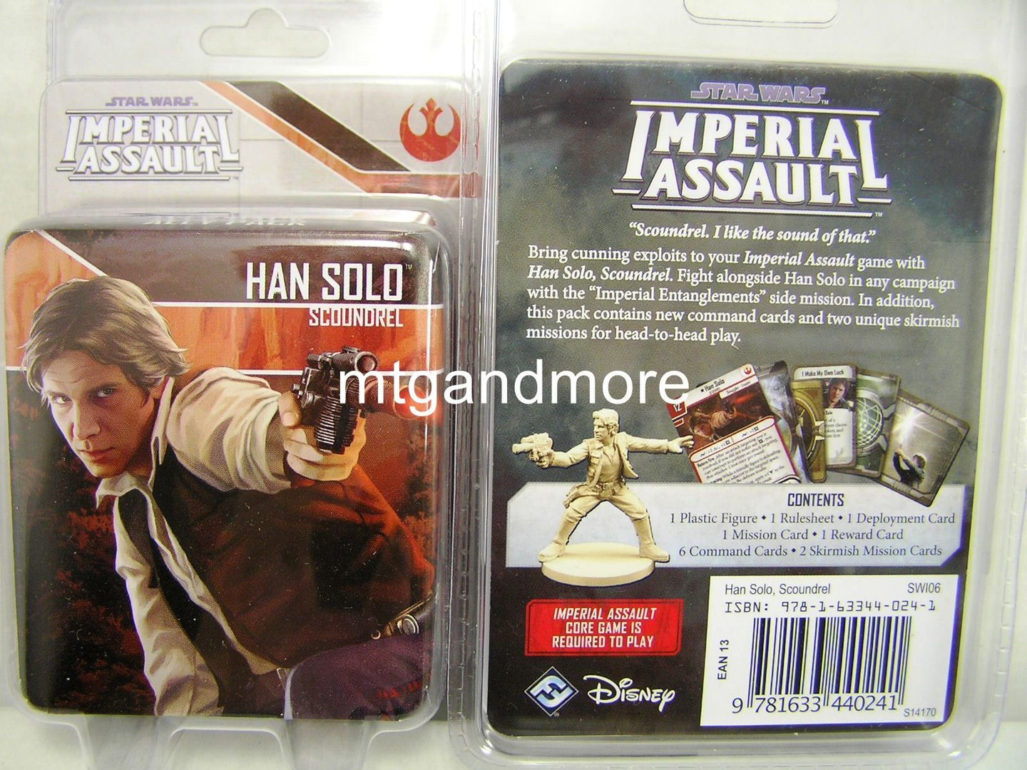 Inalterable Unshakable 5 Tokens STAR WARS IMPERIAL ASSAULT 2017 ESPAÑOL