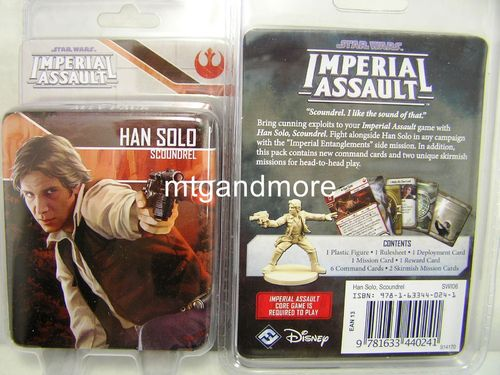 Star Wars Imperial Assault - Han Solo Scoundrel Ally Pack