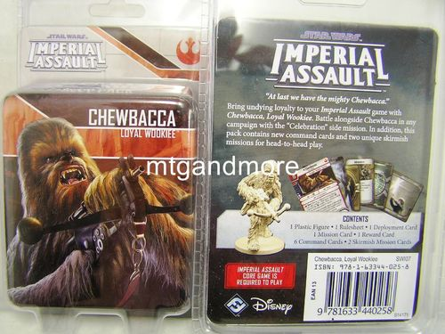 Star Wars Imperial Assault - Chewbacca Loyal Wookiee Ally Pack