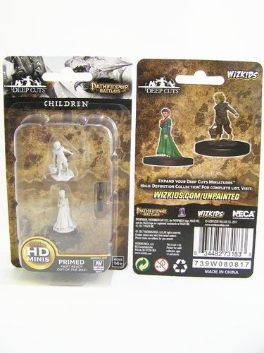 WZK73183 - Pathfinder Deep Cuts Wave 4 - Unpainted Miniatures - Children