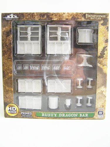 WZK73221 - Pathfinder Deep Cuts Wave 4 - Unpainted Miniatures - Rusty Dragon Bar