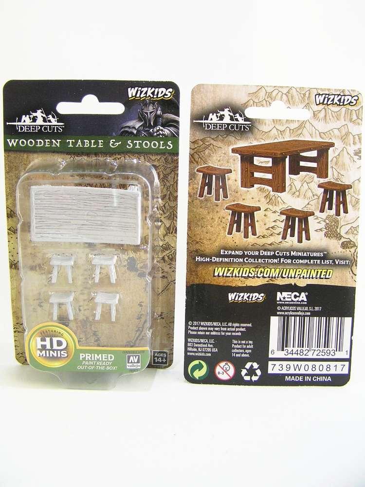 Miraculous Wzk72593 Pathfinder Deep Cuts Wave 4 Unpainted Miniatures Wooden Table Stools Machost Co Dining Chair Design Ideas Machostcouk
