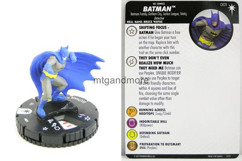 Heroclix - #001 Batman - Elseworlds