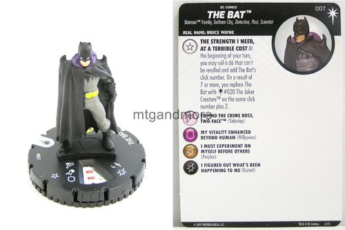 Heroclix - #007 The Bat - Elseworlds