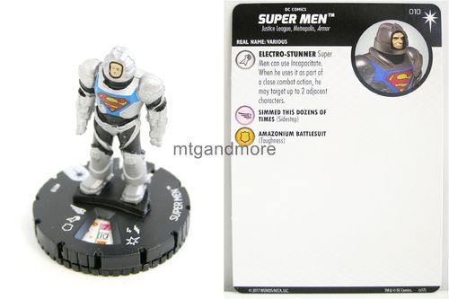 Heroclix - #010 Super Men - Elseworlds