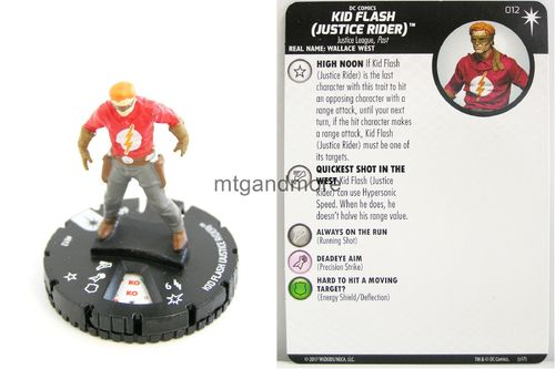 Heroclix - #012 Kid Flash (Justice Rider) - Elseworlds