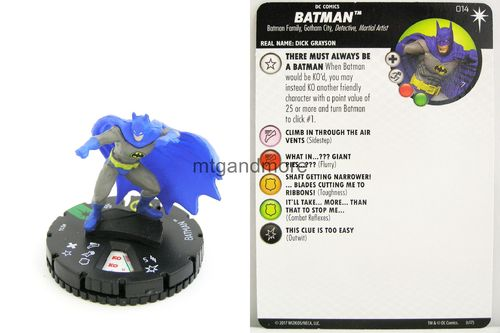 Heroclix - #014 Batman - Elseworlds