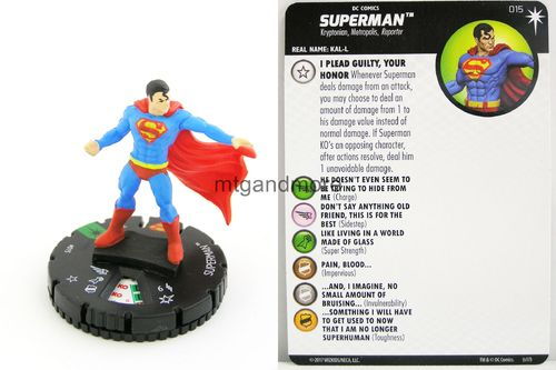Heroclix - #015 Superman - Elseworlds
