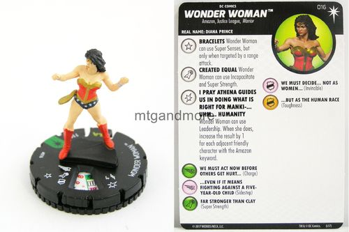 Heroclix - #016 Wonder Woman - Elseworlds