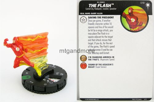 Heroclix - #018 The Flash - Elseworlds
