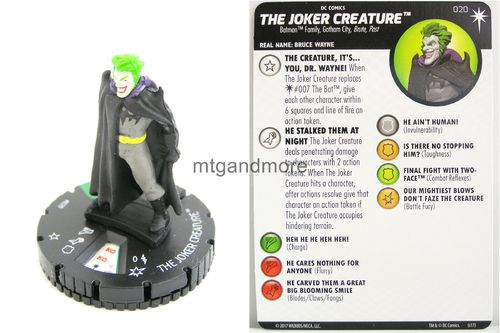 Heroclix - #020 The Joker Creature - Elseworlds