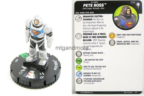 Heroclix - #023 Pete Ross - Elseworlds