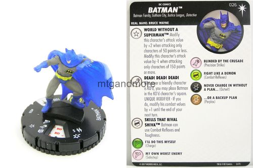 Heroclix - #026 Batman - Elseworlds
