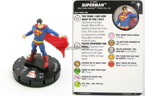 Heroclix - #027 Superman - Elseworlds