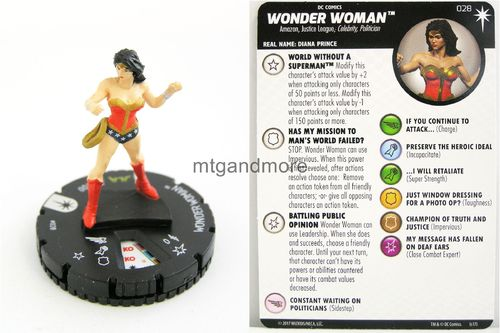 Heroclix - #028 Wonder Woman - Elseworlds