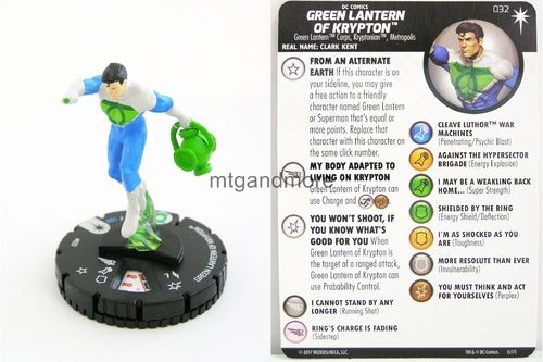 Heroclix - #032 Green Lantern of Krypton - Elseworlds
