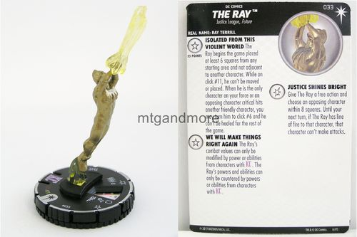 Heroclix - #033 The Ray - Elseworlds