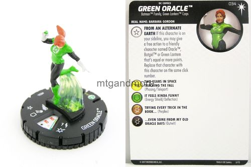 Heroclix - #034 Green Oracle - Elseworlds