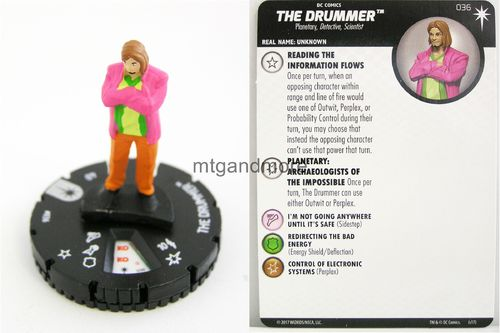 Heroclix - #036 The Drummer - Elseworlds