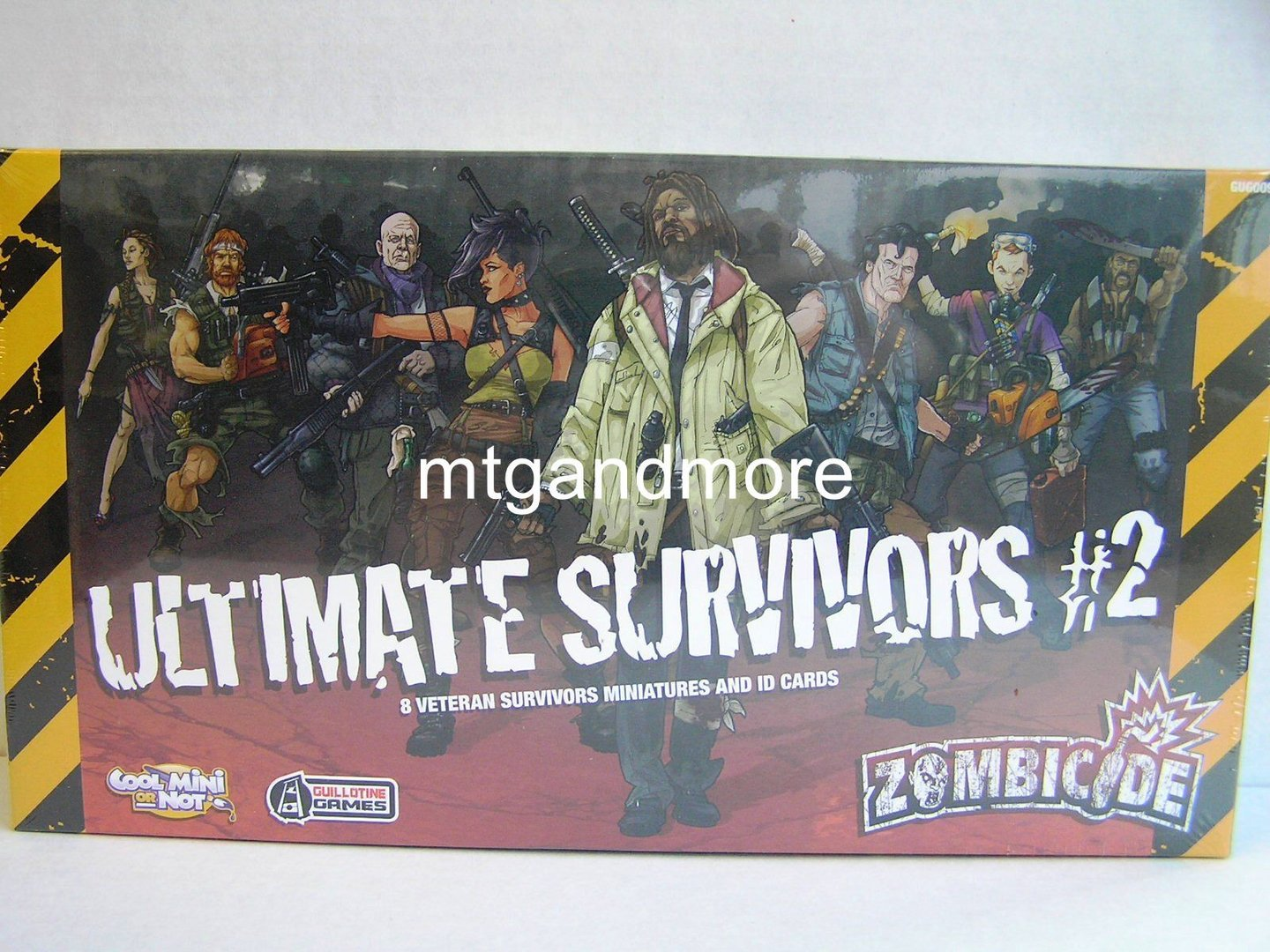 Zombicide Ultimate Survivors 2 Mtgandmore De
