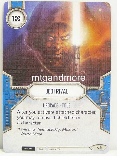 Star Wars Destiny - #009 Jedi Rival - Force Friday Starter