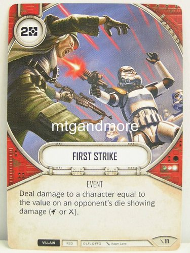 Star Wars Destiny - #011 First Strike - Force Friday Starter