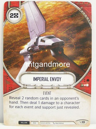 Star Wars Destiny - #013 Imperial Envoy - Force Friday Starter