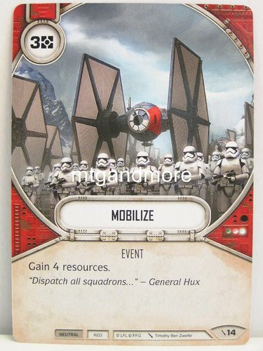 Star Wars Destiny - #014 Mobilize - Force Friday Starter