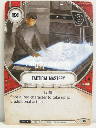 Star Wars Destiny - #015 Tactical Mastery - Force Friday Starter