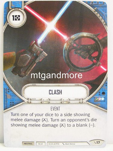 Star Wars Destiny - #017 Clash - Force Friday Starter